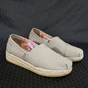 Bob's From Skechers Wedge Canvas Shoe